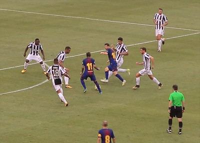 2017.7.22 - Barcelona vs. Juventus - Friendly