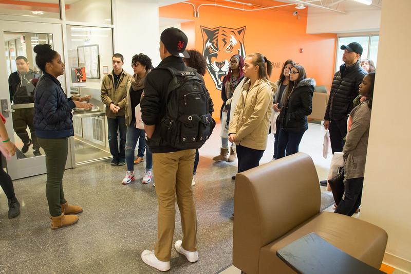 Class Visits program at SUNY Buffalo State.