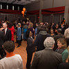 Retirement party for Vice President Hal Payne at Buffalo State College.