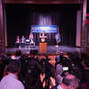 Governor Andrew Cuomo announcing Excelsior Scholarship free tuition plan at SUNY Buffalo State.