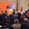 Ribbon cutting ceremony for newly renovated Caudell Hall at SUNY Buffalo State.