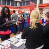 Career Development Center Job Fair at SUNY Buffalo State.