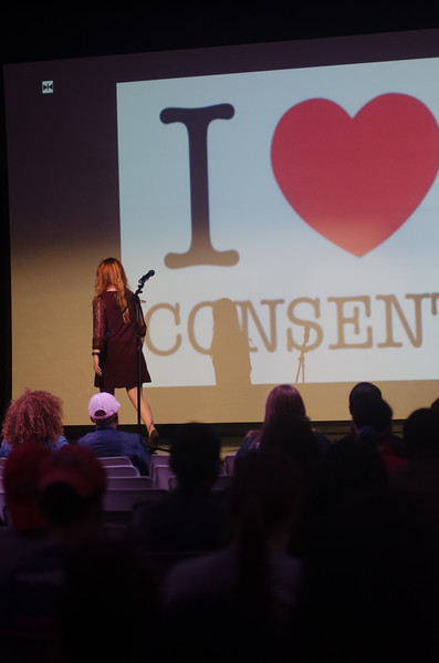 An event hosted by Health Promotion about bring awareness sexually assault and domestic violence.