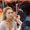 Behind the scenes preparation for Runway 10.0 Fashion Show at Buffalo State College.
