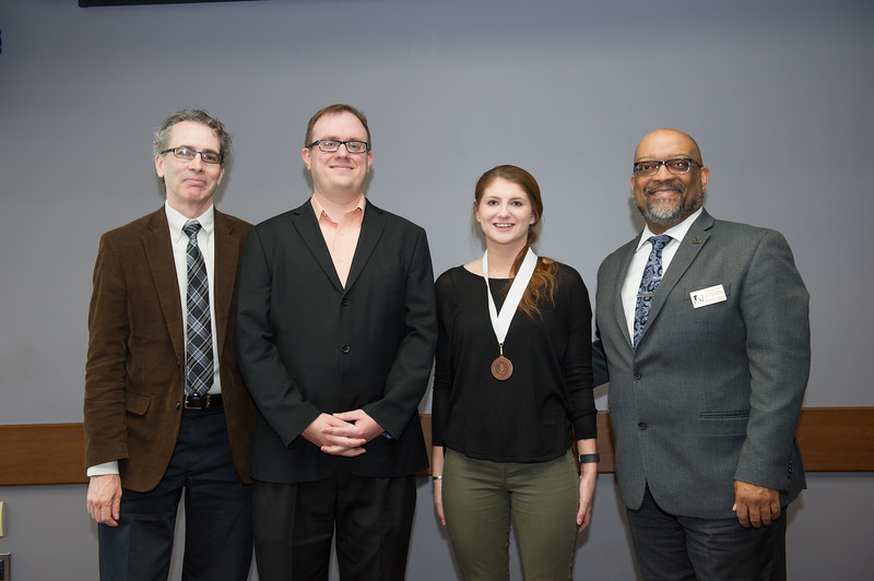 Arts and Humanities Dean's Award Ceremony at Buffalo State College.