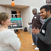 Volunteer and Service Learning Celebration of Service event at Buffalo State College.