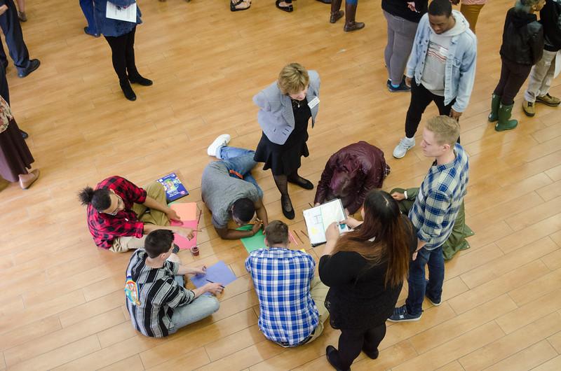Volunterr and Service-Learning Center Celebration of Service.