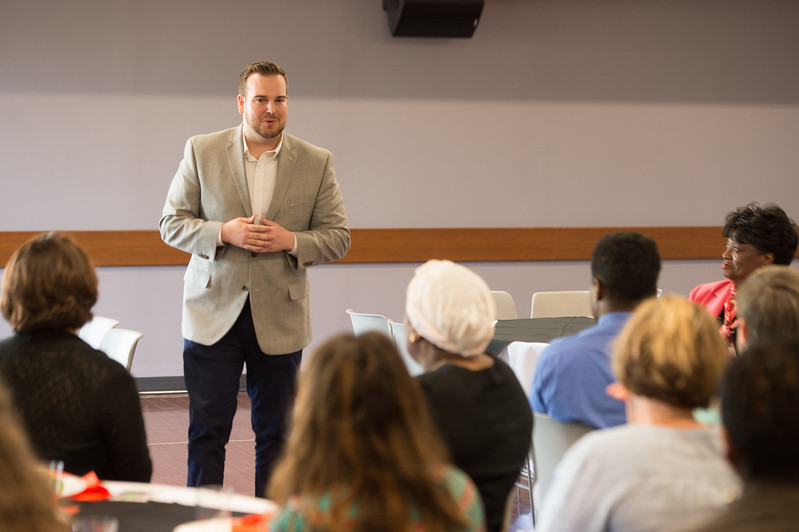 Emerging Leaders Program closing ceremony at Buffalo State College.