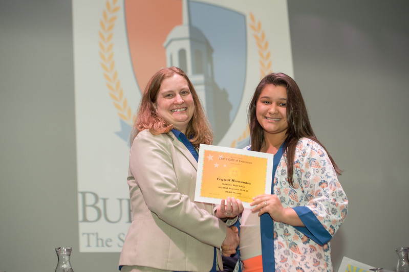 Buffalo State Challenge luncheon and awards ceremony at Buffalo State College.