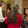Faculty and Staff Donor Reception held at the presidents house.