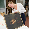 Art Conservation clinic at Buffalo State College.