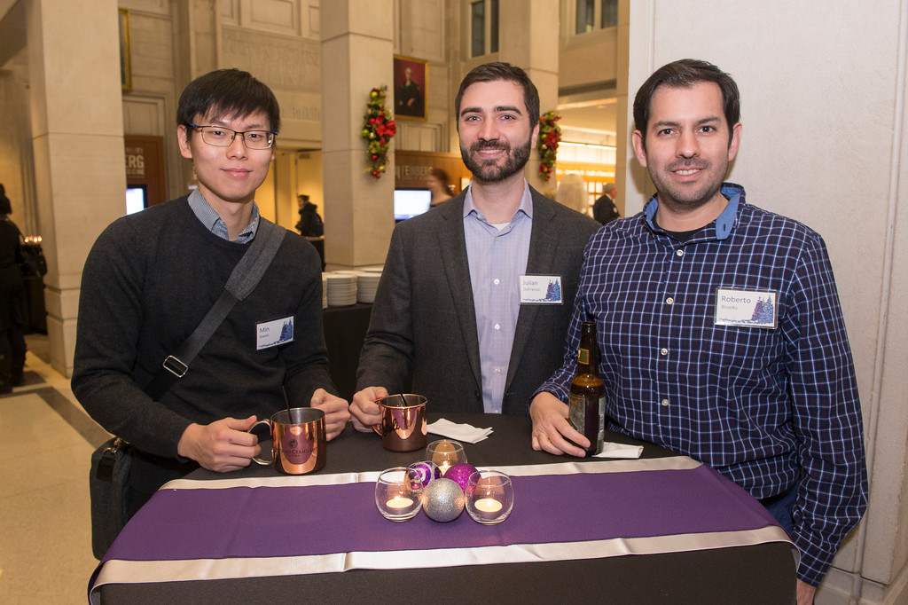 2017 Feinberg School of Medicine Dean's Administration holiday party December 14, 2017
