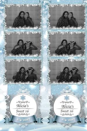 Alicia's Sweet 16 2-4-17