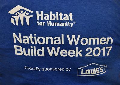 Habitat For Humanity Women Build 2017