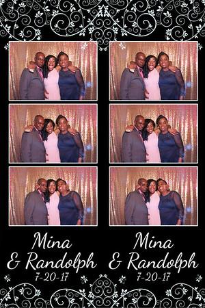 Mina and Randolph's Wedding 7-20-17