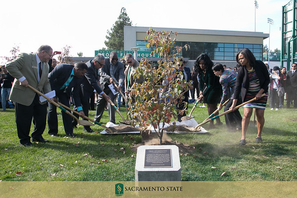 MLK 50th celebration ~ Sac State