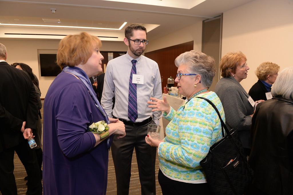 Denise Majewski, Bernthal Chair Installation reception and dinner, October 30, 2017