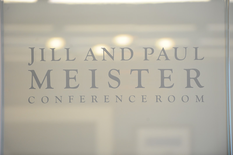 Jill and Paul Meister Conference Room Dedication, August 28, 2017