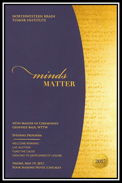2017 NBTI Minds Matter Benefit Dinner, May 19, 2017