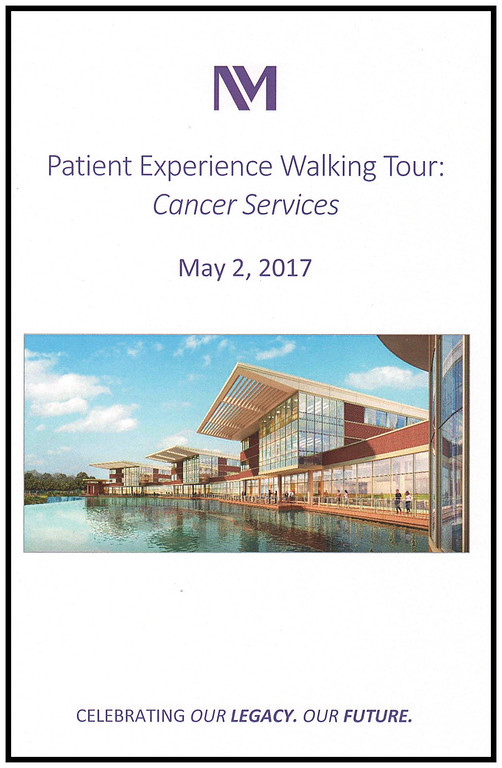 NMLFH Patient Experience Walkiing Tour: Cancer Services, May 2, 2017