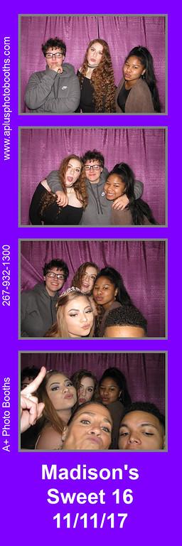 Madison's Sweet 16 11-11-17