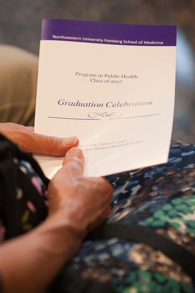 Program in Public Health 2017 Graduation Celebration, June 17, 2017