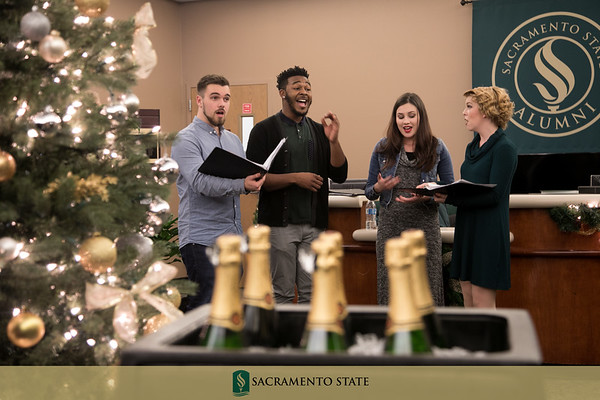 President's Annual Holiday Open House