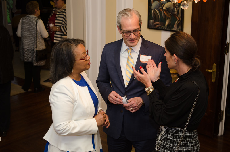 President's Circle Reception at President's house