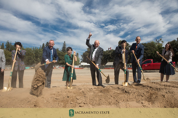 Science II Groundbreaking