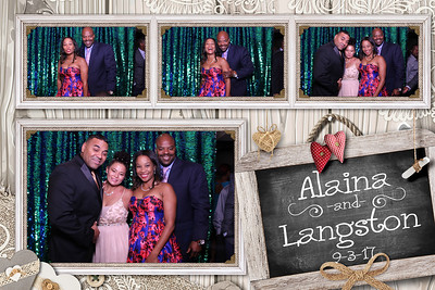 Alaina and Langston's Wedding 9-3-17