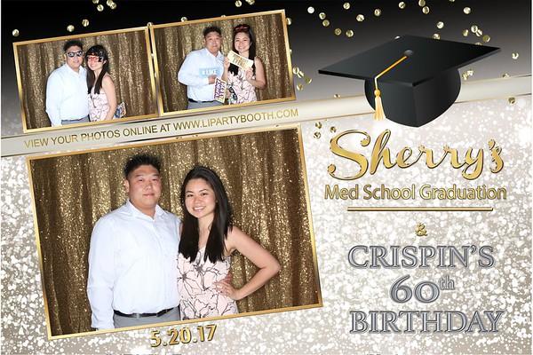 Sherry's Med School Graduation & Crispin's 60th Birthday