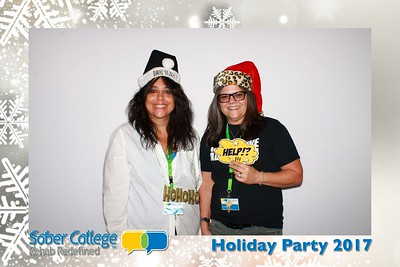 Sober College Holiday Party - 12/14/2017