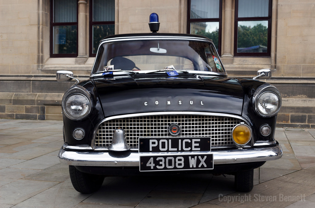 Ford Consul Police Car
