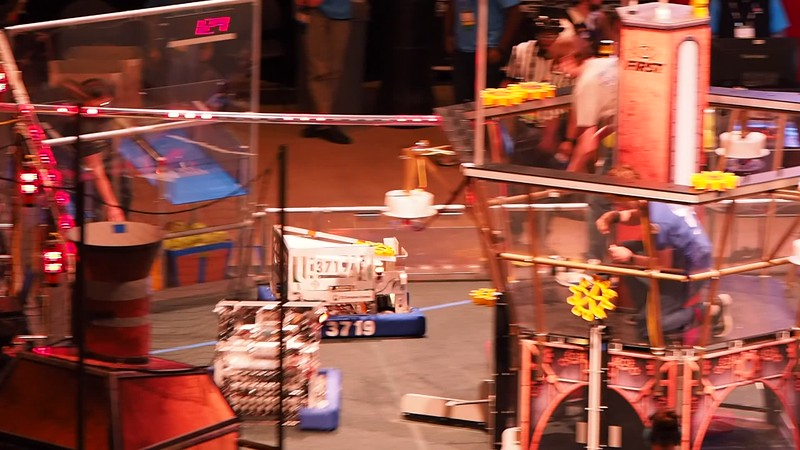 3719 in action, Qualification match 26 (full match)