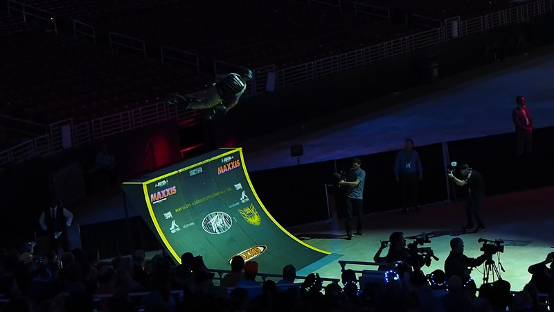 BMX entertainment at Worlds (36 sec)