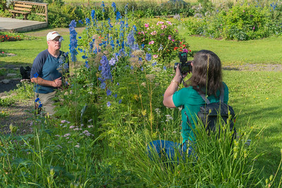 Photo Class at the Georgeson Garden