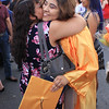 Roger Schneider | The Goshen News<br /> Esmeralda Marin receives a big hug from her mother Julia after graduating from Fairfield Jr.-Sr. High School Sunday.