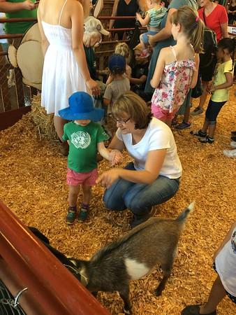 Puyallup Fair with Grandma & Grandpa Johnson
