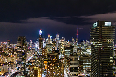DA094,DT, Toronto Canada at night