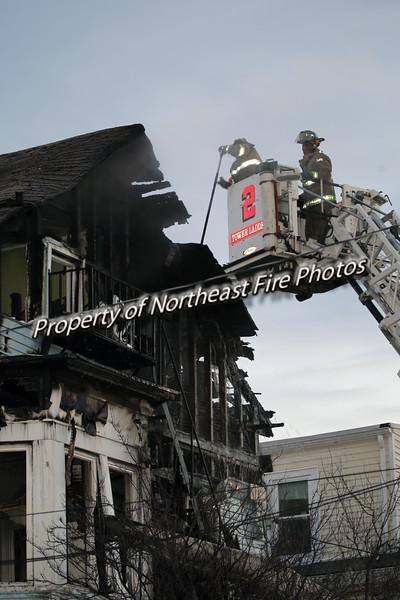 Providence- 3rd Alarm, Carpenter Street-2/2/2017