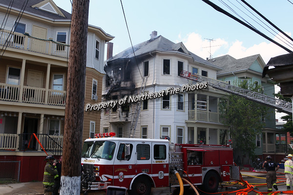 Providence- 4th Alarm- Prairie Avenue- 5/19/17