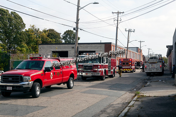 Providence- Industrial Accident, Waldo Street- 10/24/2017