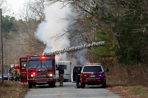 Scituate- Sevo Drive, RV Fire-12/02/2017