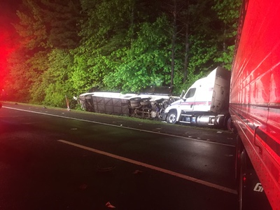 5-26-2017(Gloucester County)DEPTFORD New Jersey Turnpike Southbound MM 19.2