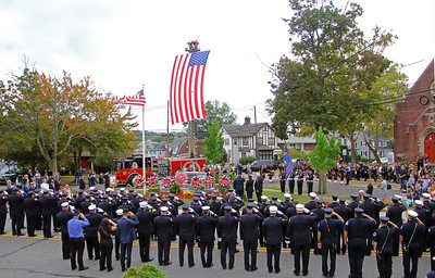 Remembering  The 5 Ridgefield Firefighters  10-15-17