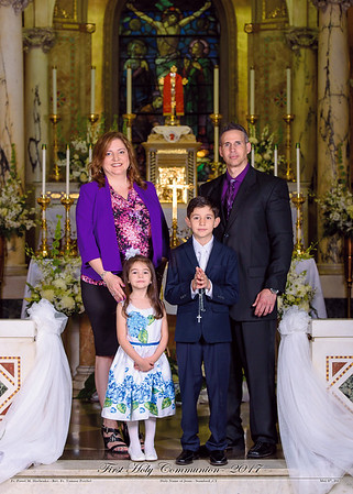 2017 - First Holy Communion - STAMFORD, CT