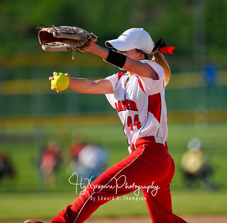 2017 First Round Softball Playoff Action