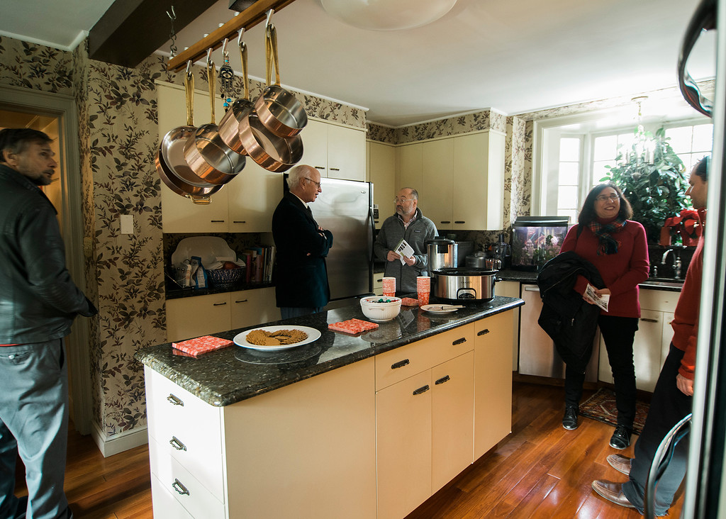 . The Bogdasarian Family home at 100 Flat Rock Road during the Fitchburg House Tours on Saturday, December 2, 2017. SENTINEL & ENTERPRISE / Ashley Green