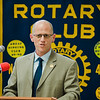 Fitchburg High Principal Jeremy Roche speaks during the annual Fitchburg Rotary Awards Dinner at FHS on Tuesday, May 16, 2017. SENTINEL & ENTERPRISE / Ashley Green