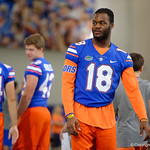 University of Florida Gators wide receiver Daquon Green as the Gators hold their annual fan day, signing autographs and mingling with the fans.  August 19th, 2017.  Gator Country photo by David Bowie.